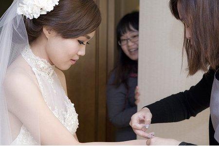 幸福傑克婚禮紀錄團隊 柏誠&佳琪 桃園尊爵飯店 迎娶儀式