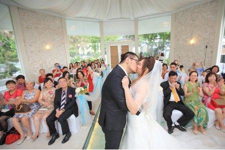 家企&宜臻結婚-西子灣沙灘會館