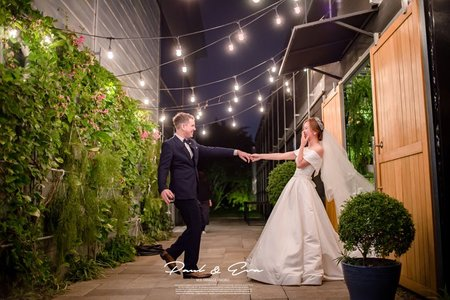 Paul & Eva 綠風草原 溫室 美式婚禮