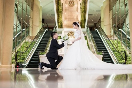 Andy Wendy 結婚 台北 君悅