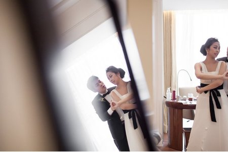 [婚禮紀錄] Justin Anna Wedding Okura 大倉久和