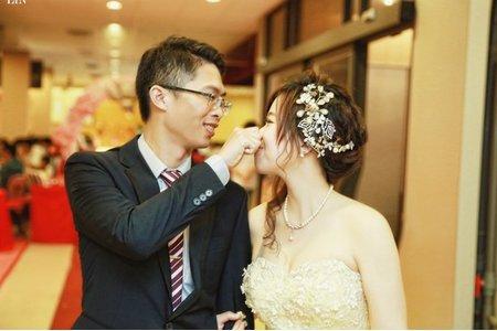 婚攝.婚禮紀錄|育成+格瑋.金悅婚宴會館