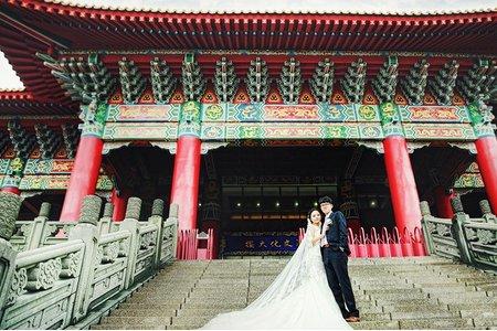 婚攝.婚禮紀錄|彥傑+筱蓁.大甲鎮瀾宮文化大樓
