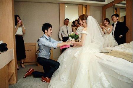 [台北婚攝] 子安+思錞. 婚禮攝影@新莊翰品飯店
