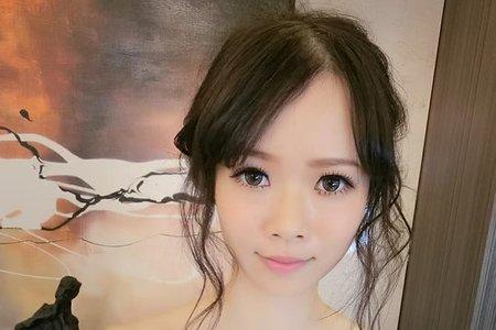 韓風空氣盤髮