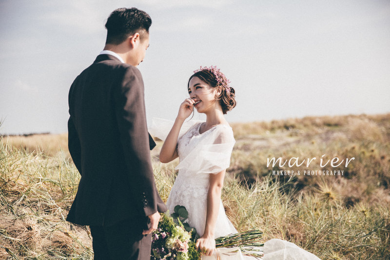 Marier x 愛情蔓延 婚紗方案作品