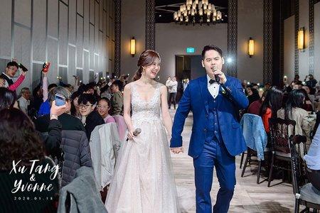 婚禮紀錄  /  XuTang & Yvonne (彭園八德)