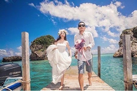 海外婚紗/沖繩自助婚紗