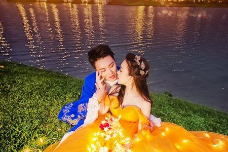 ●童話婚紗●台南/美女與野獸