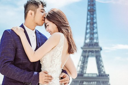 法國巴黎/蜜月旅行隨拍寫真/