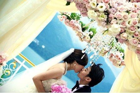 日月潭日月行館婚禮