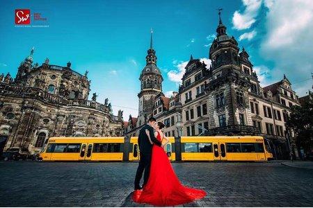 德國德勒斯登海外婚紗
