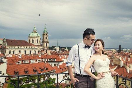 捷克布拉格海外婚紗
