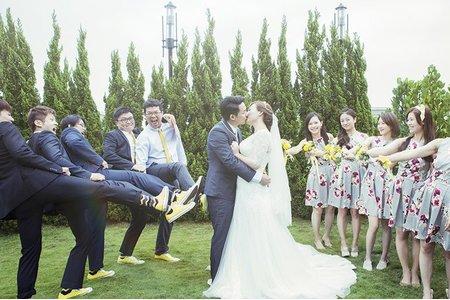 戶外證婚 & 午宴 / 台中清新溫泉會館