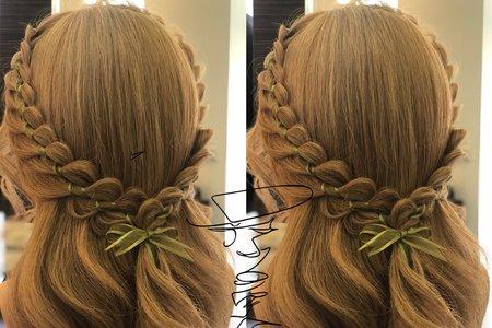 教學作品髮型
