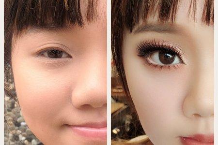 歐式眼妝教學