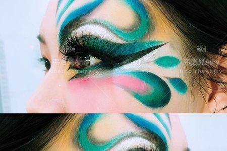 藝術彩妝示範課