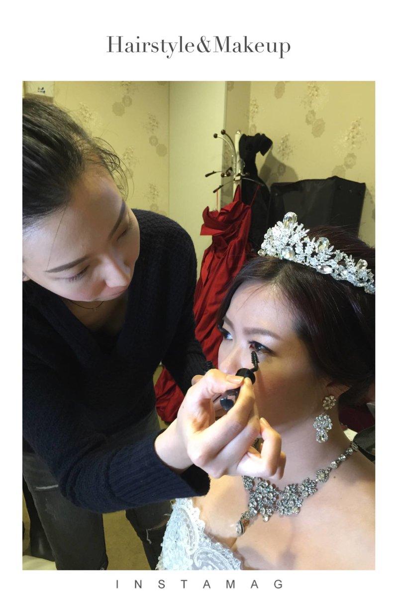 新娘秘書/婚紗外拍梳化/媽媽妝/伴娘妝髮作品