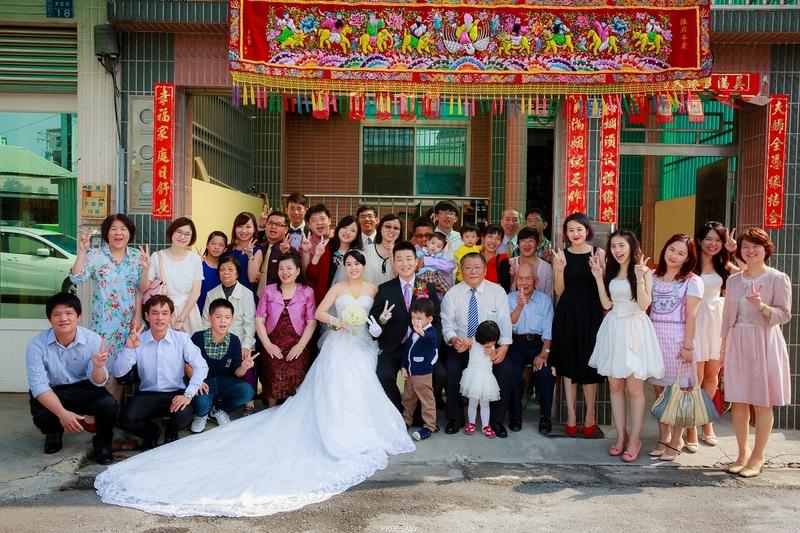 幸福通通兒  (台南婚禮記錄)(編號:155795) - 自由自在 - 結婚吧