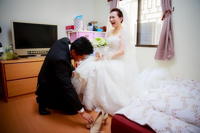 這幸福的開始 (台南婚禮記錄)(編號:155915) - 自由自在 - 結婚吧一站式婚禮服務平台