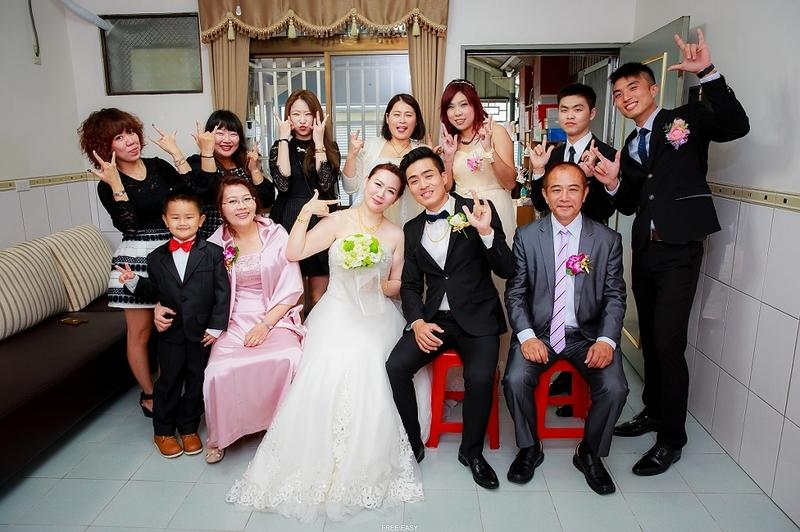 這幸福的開始 (台南婚禮記錄)(編號:155923) - 自由自在 - 結婚吧