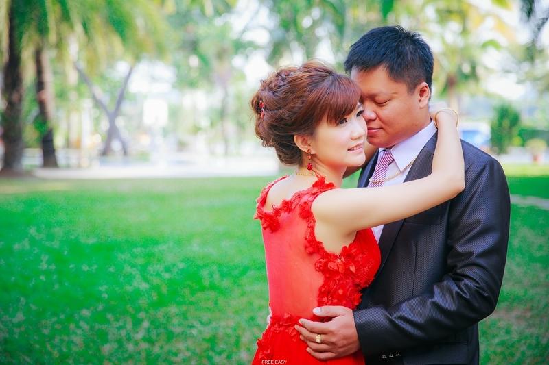幸福了.我們 (台南婚禮記錄)(編號:156072) - 自由自在 - 結婚吧一站式婚禮服務平台