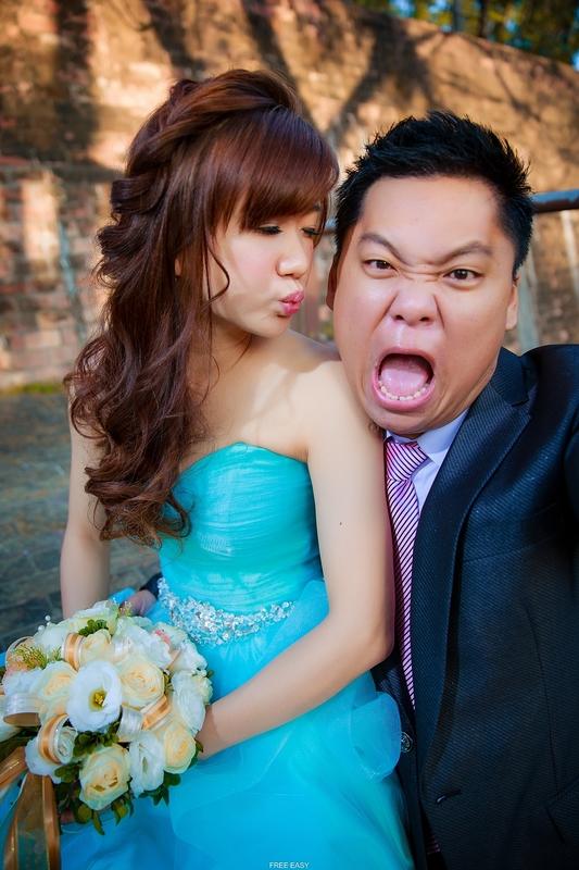 幸福了.我們 (台南婚禮記錄)(編號:156139) - 自由自在 - 結婚吧一站式婚禮服務平台