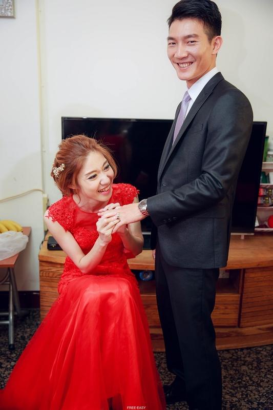 玟君  幸福了 (台南婚禮記錄)(編號:156868) - 自由自在 - 結婚吧