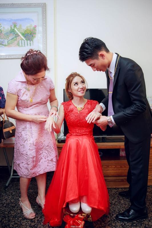玟君  幸福了 (台南婚禮記錄)(編號:156888) - 自由自在 - 結婚吧