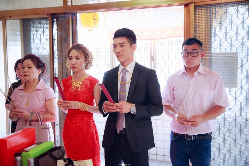 玟君  幸福了 (台南婚禮記錄)(編號:156953) - 自由自在 - 結婚吧