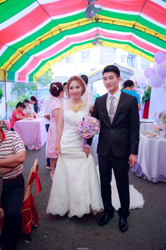 玟君  幸福了 (台南婚禮記錄)(編號:156967) - 自由自在 - 結婚吧