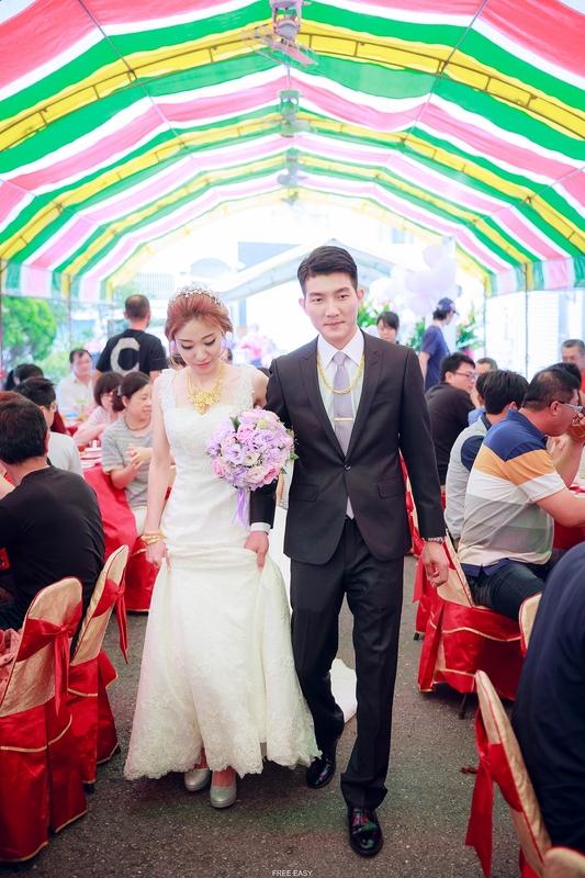 玟君  幸福了 (台南婚禮記錄)(編號:156971) - 自由自在 - 結婚吧