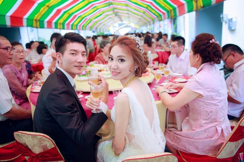 玟君  幸福了 (台南婚禮記錄)(編號:156974) - 自由自在 - 結婚吧一站式婚禮服務平台