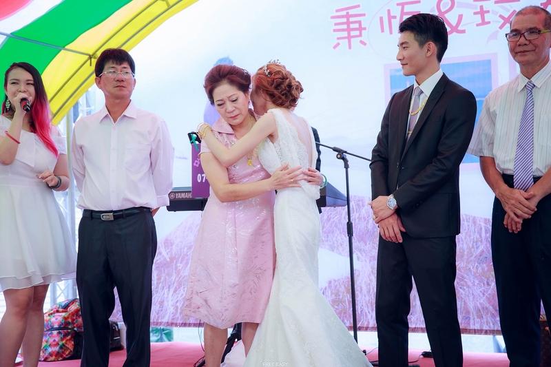 玟君  幸福了 (台南婚禮記錄)(編號:156991) - 自由自在 - 結婚吧