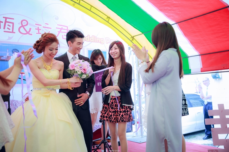 玟君  幸福了 (台南婚禮記錄)(編號:157018) - 自由自在 - 結婚吧