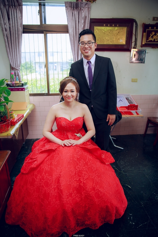 甄容   幸福了  (台南婚禮記錄)(編號:157593) - 自由自在 - 結婚吧一站式婚禮服務平台
