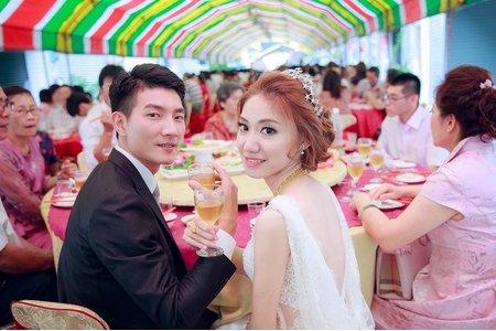 玟君  幸福了 (台南婚禮記錄)