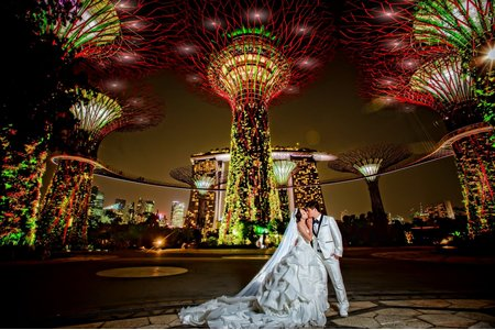 新加坡的幸福之旅  (海外自主婚紗)