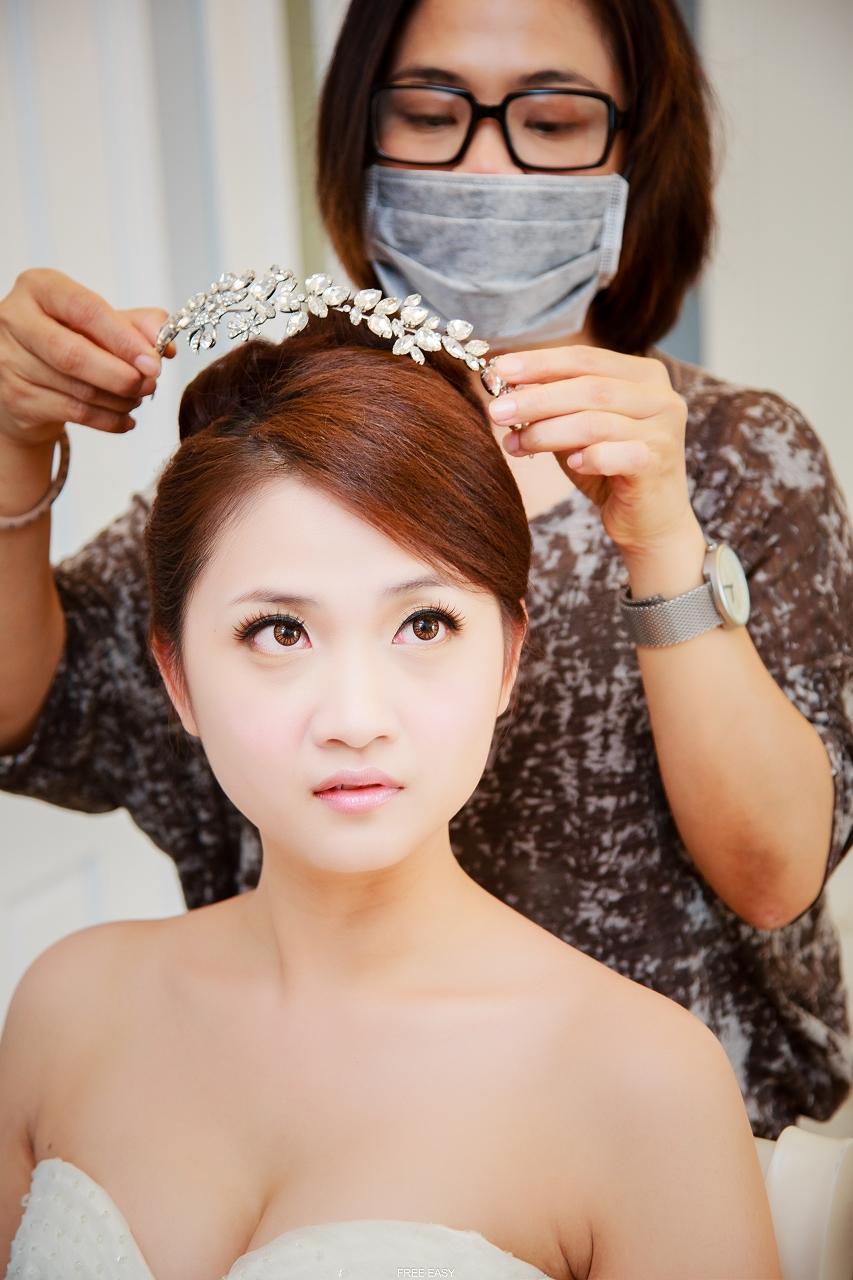 給幸福的妳 (台南婚禮記錄)(編號:432749) - 自由自在 - 結婚吧一站式婚禮服務平台