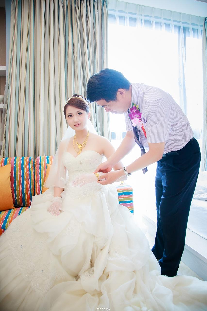 給幸福的妳 (台南婚禮記錄)(編號:432755) - 自由自在 - 結婚吧一站式婚禮服務平台