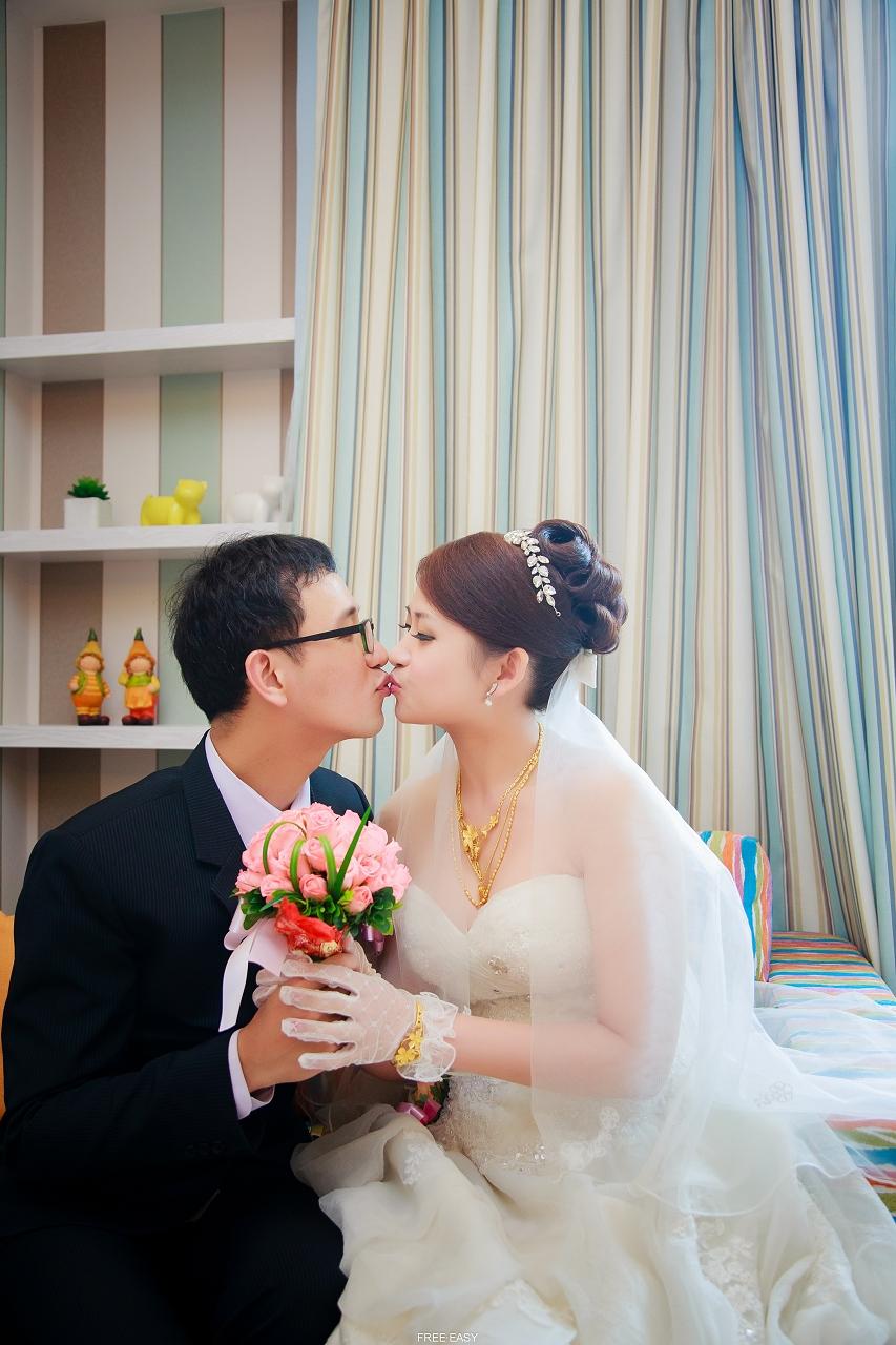 給幸福的妳 (台南婚禮記錄)(編號:432790) - 自由自在 - 結婚吧一站式婚禮服務平台