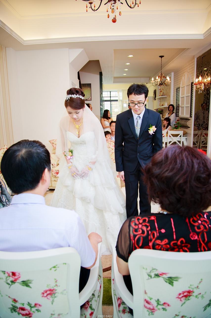給幸福的妳 (台南婚禮記錄)(編號:432799) - 自由自在 - 結婚吧