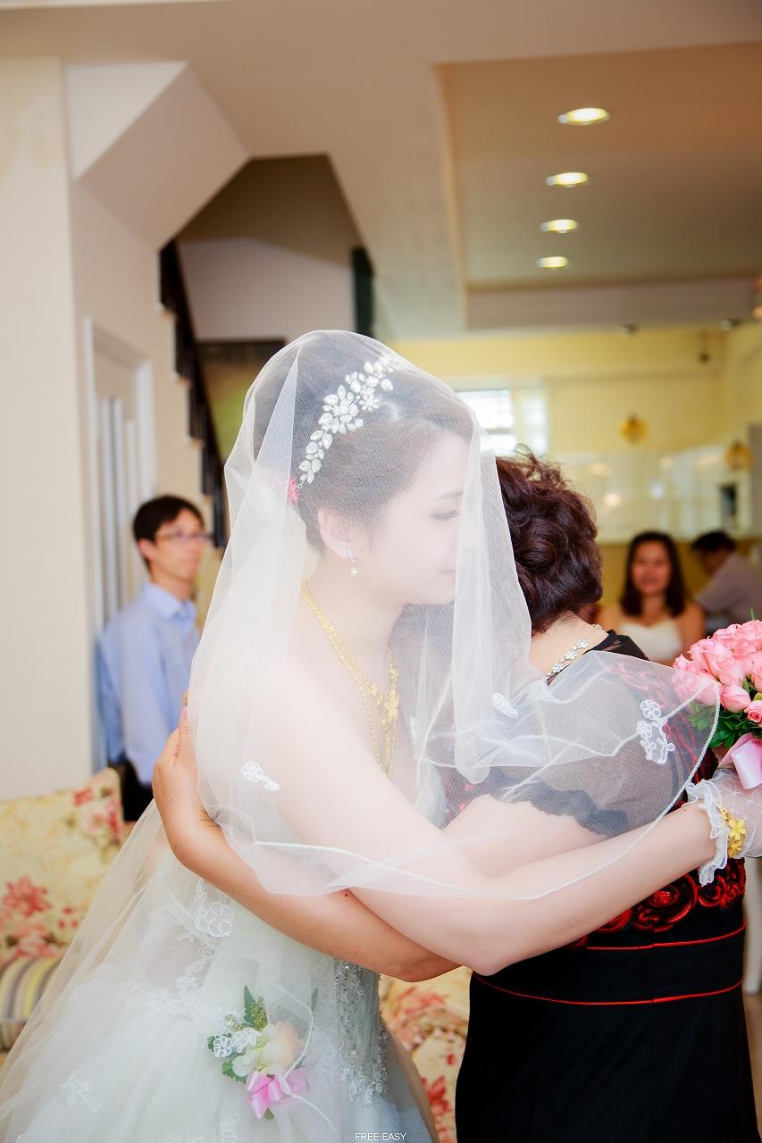 給幸福的妳 (台南婚禮記錄)(編號:432811) - 自由自在 - 結婚吧一站式婚禮服務平台