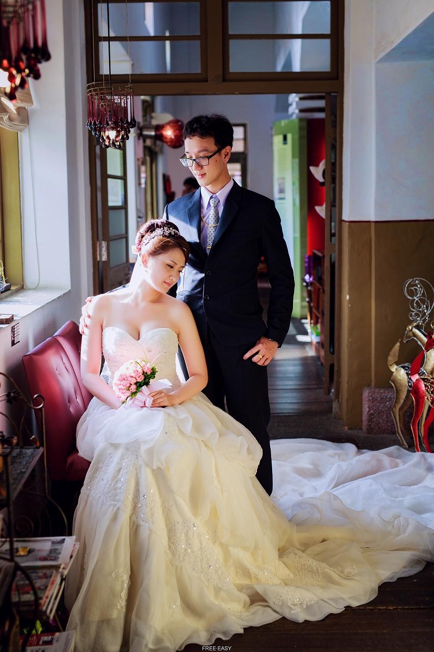 給幸福的妳 (台南婚禮記錄)(編號:432834) - 自由自在 - 結婚吧