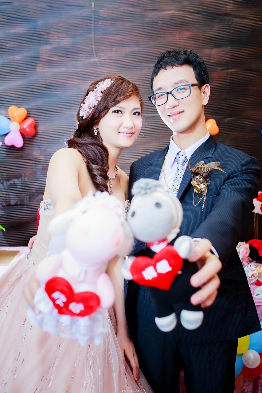 給幸福的妳 (台南婚禮記錄)(編號:432854) - 自由自在 - 結婚吧一站式婚禮服務平台