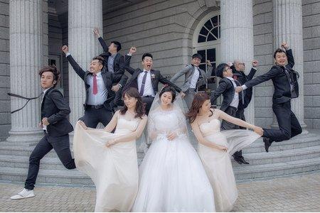 有岑&緹潔 我們結婚了 (台南推薦婚禮記錄)