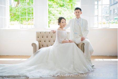 自助婚紗-關於青春氣息洋溢的婚紗照。