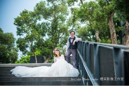 自助婚紗-我們要拍起來像自己的婚紗照。