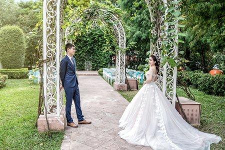 時尚唯美風格 | 台中林皇宮-戶外證婚