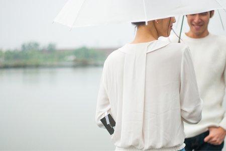野人寫真 | 婚紗概念 - 雨